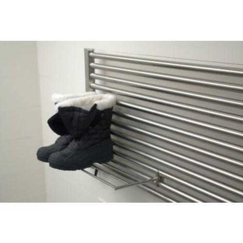 Amba Sirio Fixture Mounted Towel Rack; Polished