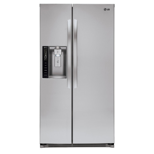 LG 26.16 Cu. Ft. Side-by-Side Refrigerator - Stainless Steel