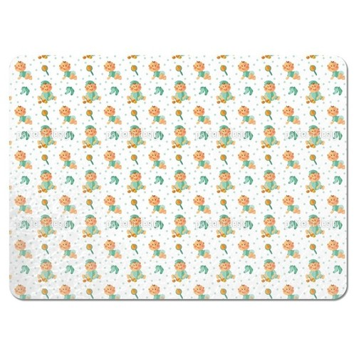 Baby Boy and Toy Placemats (Set of 4)