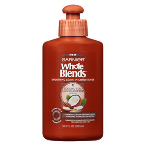 Garnier Whole Blends Smoothing Leave-In Conditioner Coconut Oil & Cocoa Butter