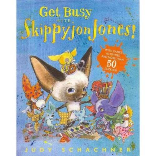 Judy Schachner; Judy Schachner; Judith Byron Schachner Get Busy with Skippyjon Jones!