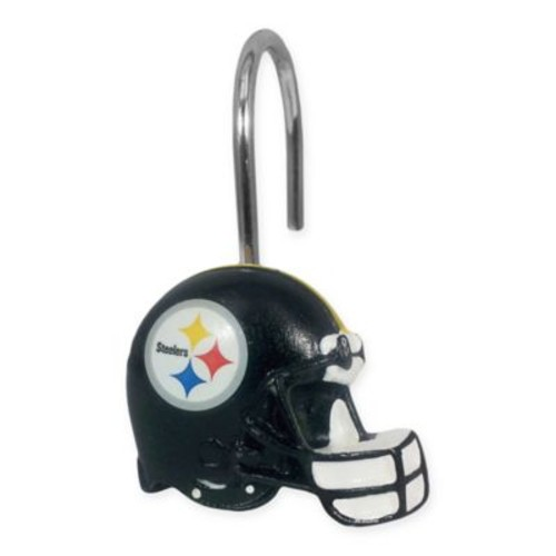 NFL Pittsburgh Steelers Shower Curtain Rings by The Northwest