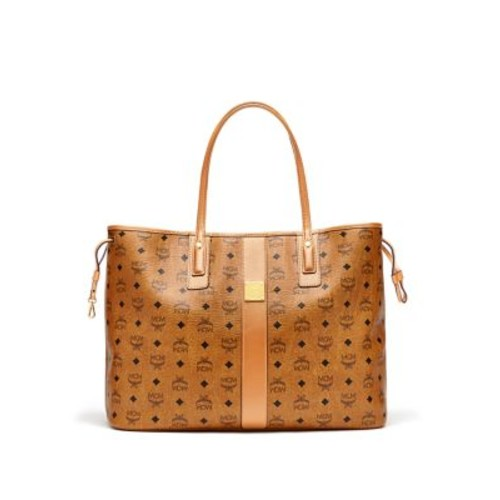 Liz Large Reversible Visetos Shopper Tote