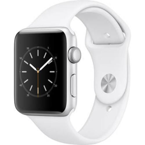 Watch Series 2 42mm Smartwatch (Silver Aluminum Case, White Sport Band)