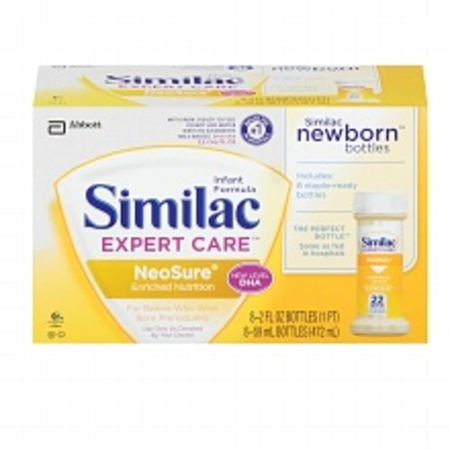 Similac Expert Care NeoSure Infant Formula with Iron, Ready to Feed