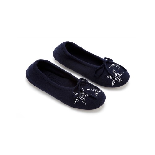 Slipper with Star Crystals