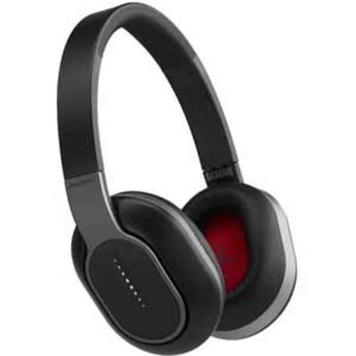 Phiaton Wireless Headphones with Swipe & Touch Interface - Black