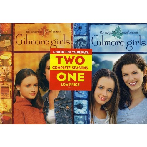 Gilmore Girls: The Complete Seasons 1 and 2 [12 Discs] [DVD]