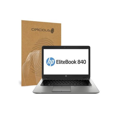 Celicious Vivid HP EliteBook 840 G2 (Non-Touch) Crystal Clear Screen Protector [Pack of 2]