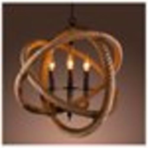 Warehouse of Tiffany Rope Enclosed LD-4902 Chandelier