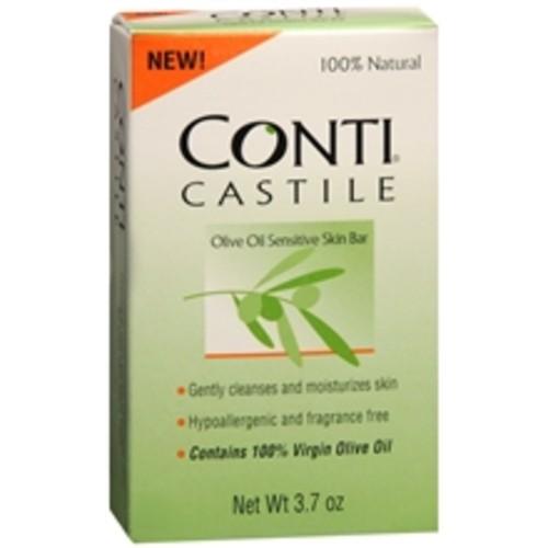 Conti Castile Olive Oil Sensitive Skin Bar Soap Fragrance Free