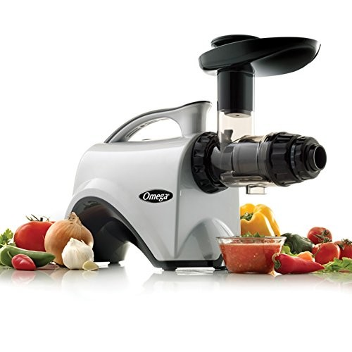 Omega NC800 HDS 5th Generation Nutrition Center Juicer, Silver [Silver]