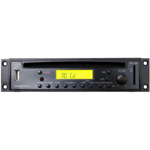HR72X - Rack Mountable CD/MP3 Player with XLR Output Connectors (1RU High)