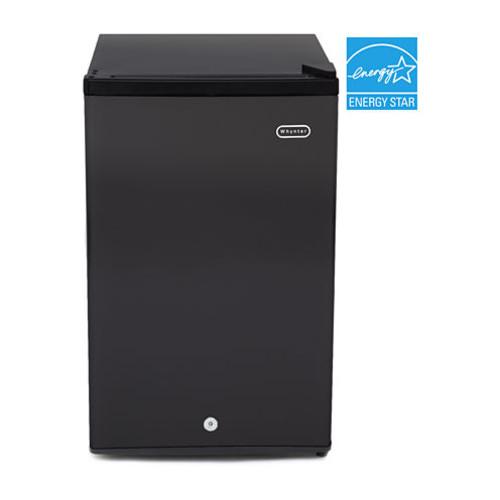 CUF-301BK Whynter 3.0 cu. ft. Energy Star Upright Freezer with Lock  Black