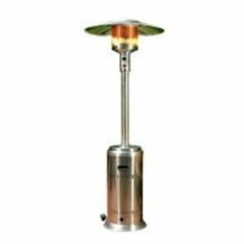 Fire Sense Commercial Patio Heater, Unpainted Stainless Steel [Stainless Steel]