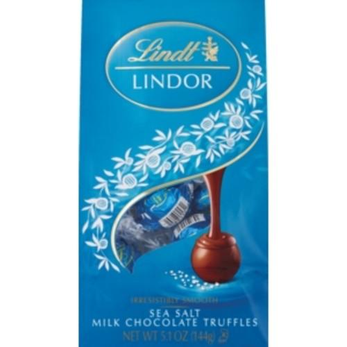 Lindt Sea Salt Milk Chocolate Truffles