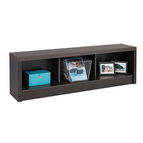 Prepac HUBD-0500-1 District Storage Bench, Washed Black