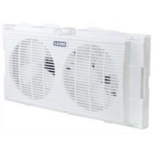 Lasko Products 7 Twin Window Fan 2 Speed (2137) -
