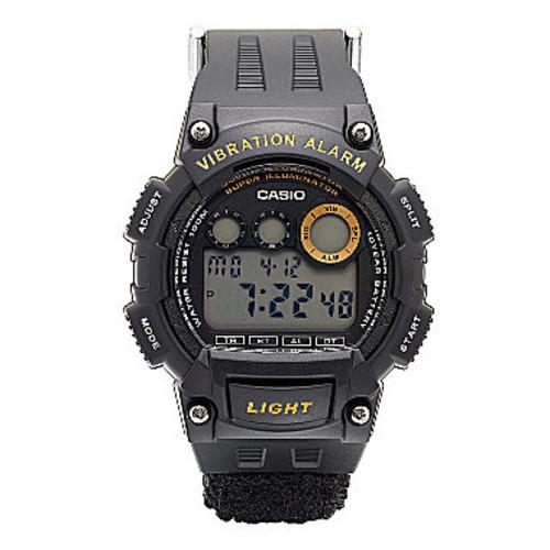 Casio Mens Black W735 Strap Watch W735HB-1AV