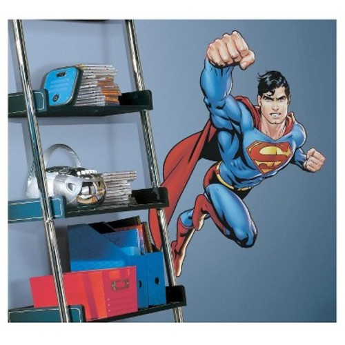 RoomMates Superman-Day Of Doom Peel & Stick Giant Wall Decal