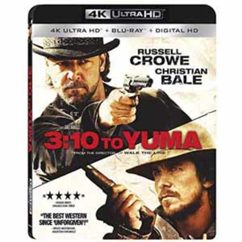 3:10 to Yuma [4K UHD] [Blu-Ray] [Digital HD]