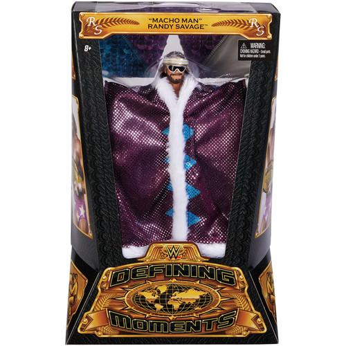 WWE Macho Man Randy Savage - Defining Moments Elite Toy Wrestling Action Figure