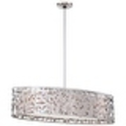 Kovacs P7987-077 3 Light 1 Tier Linear Chandelier from the Layover Collection