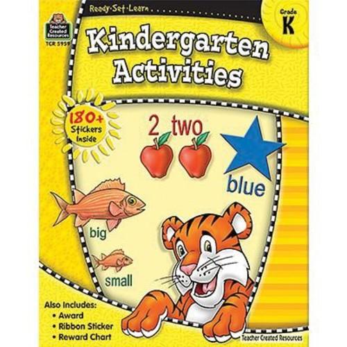 Teacher Created Resources Ready - Set - Learn, Kindergarten Activities Book