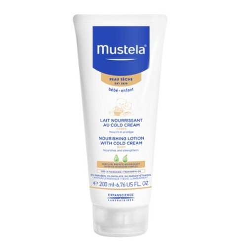 Mustela Nourishing Baby Body Lotion with Cold Cream - 6.76 Ounce