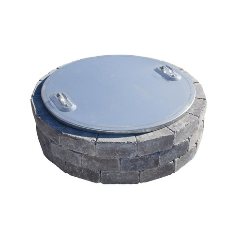 Necessories 37 in. Fire Pit Cover