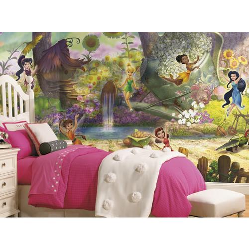 Disney Fairies Pixie Hollow Mural (6'x10.5')