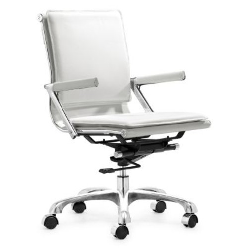 ZUO Modern Lider Plus Leather Executive Chair, 25