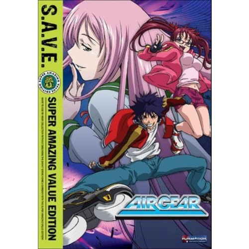 Air Gear: The Complete Series [S.A.V.E.] [4 Discs]