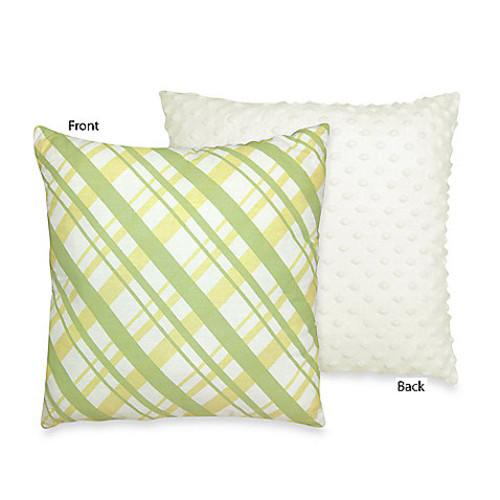 Sweet Jojo Designs Leap Frog Decorative Pillow
