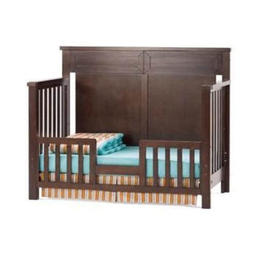 Child Craft Abbott Collection Walnut-finish Wood 4-in-1 Lifetime Convertible Crib