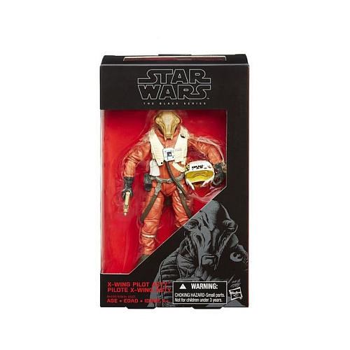 Star Wars: Episode VII The Force Awakens Black Series 6 inch Figure - X-Wing Pilot ASTY