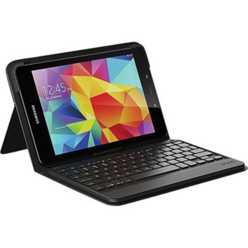 Zagg GTEBSFBB0 Messenger Fabric Folio Cover/Keyboard for 9.7