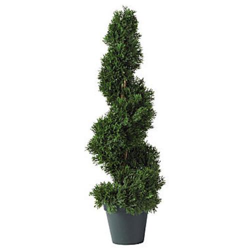 Nearly Natural Cedar Spiral Silk Tree