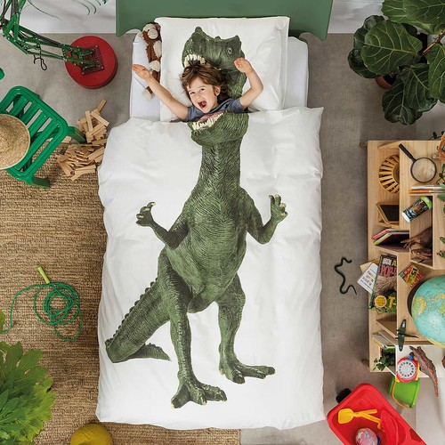 Dinosaur Duvet and Pillowcase Set [Twin]