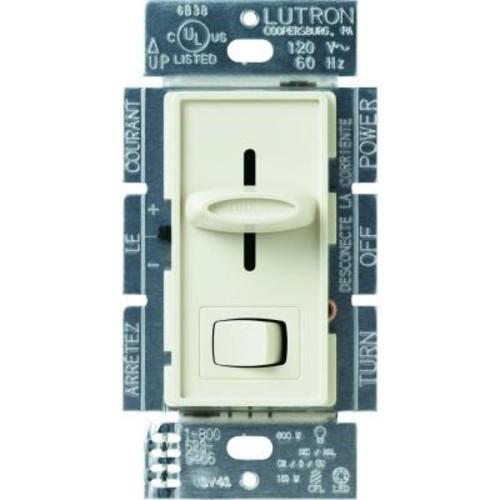 Lutron Skylark 150-Watt Single-Pole/3-Way CFL-LED Dimmer - Almond