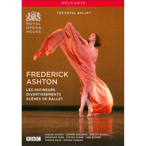 Frederick Ashton: Les Patineurs; Divertissment; Scenes de Ballet [DVD]