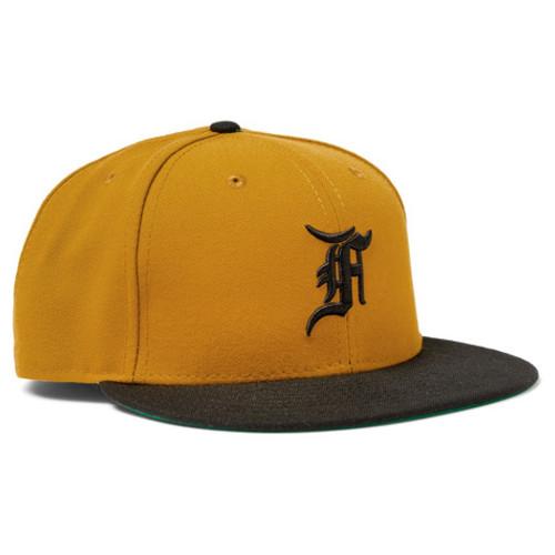 Fear of God - + New Era Embroidered Wool Baseball Cap