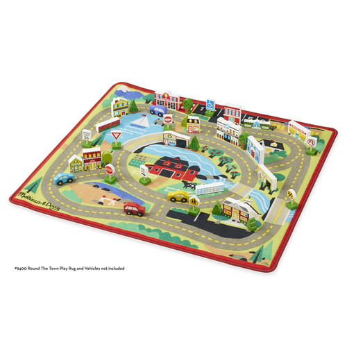Melissa & Doug Wooden My Town Accessory Set