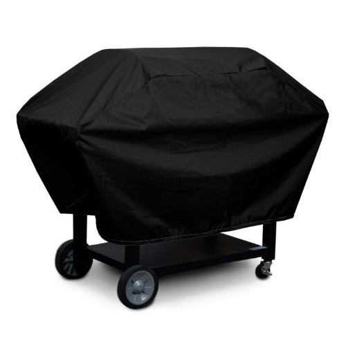 KoverRoos Weathermax 73050 2-Shelf Barbecue Cover, 23-Inch Diameter by 55-Inch Width by 23-Inch Height, Black