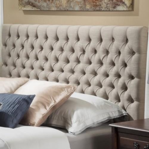 Safavieh Martin Bordeaux Cotton Upholstered Tufted Headboard