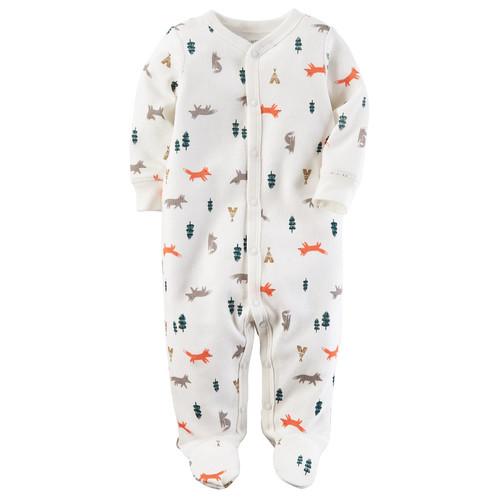 Baby Boy Carter's Fox & Trees Sleep & Play