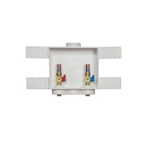 Oatey Quadtro 2 in. Copper Sweat Washing Machine Outlet Box with Hammers