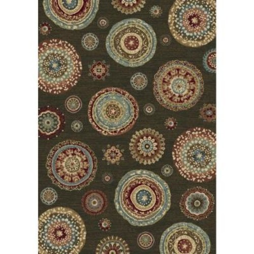 Home Decorators Collection Maxwell Multi 6 ft. 7 in. x 9 ft. 6 in. Indoor Area Rug
