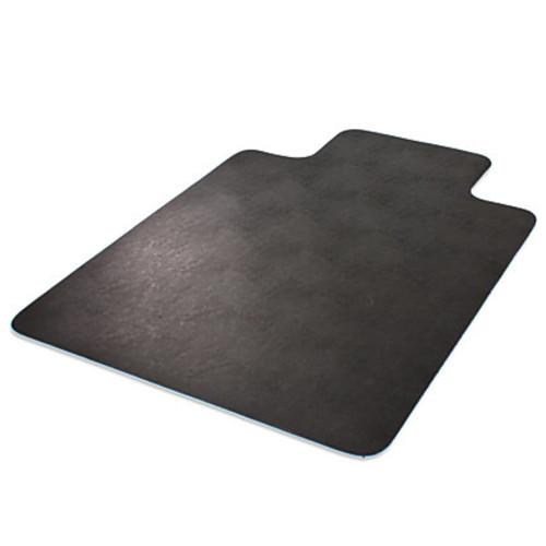 Deflect-O Chair Mat, For Hard Floors, Wide Lip, 36
