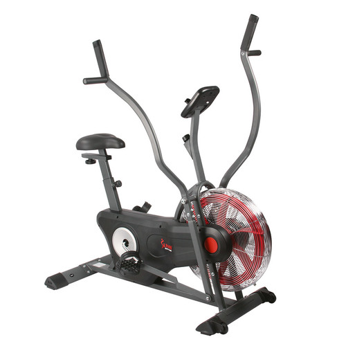 Sunny Health & Fitness Upright Trainer Air Bike